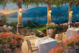 Amalfi Holiday II Kunstdrucke von T. C. Chiu