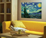 Starry Night Wall Decal by Vincent van Gogh