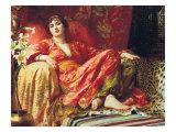 Leila, 1892 Premium Giclee Print by Frank Bernard Dicksee