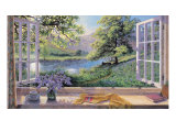Blklokker Gicle-tryk af Stephen Darbishire