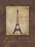 Torre Eiffel Póster por Stephanie Marrott