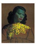 Kinesisk pige Giclee-tryk i høj kvalitet af Vladimir Tretchikoff