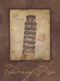 Tower of Pisa Posters by Stephanie Marrott