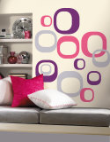 Modern Ovals Wall Decal