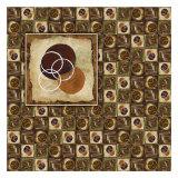 Circles in Circles I Poster by Maria Girardi