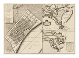 New Orleans, Louisiana, c.1759 Prints by Thomas Jefferys