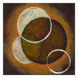 Circles of Time II Posters by Maria Girardi