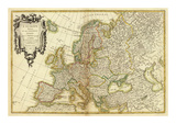L'Europe, c.1782 Prints by Jean Janvier