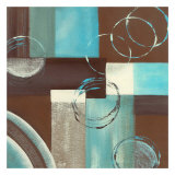 Circles on Squares I Prints by Maria Girardi