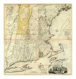 Composite: New England, c.1776 Poster by Thomas Jefferys