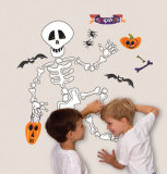 Build a Skeleton Wall Decal
