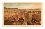 Grand Canyon: Foot of the Toroweap looking East, c.1882 Prints by William Henry Holmes