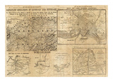 Important Operations in Kentucky and Tennessee, c.1861 Prints by E. S. Hall