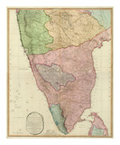 Composite: India Peninsula, c.1800 Posters by William Faden