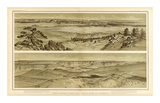 Grand Canyon: Views Looking East and South from Mt. Trumbull, c.1882 Poster by William Henry Holmes