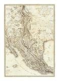 Composite: Nouvelle Espagne, c.1809 Poster by Alexander Von Humboldt