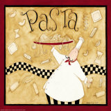 Kitchen Favorites: Pasta Pósters por Dan Dipaolo