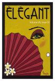 Elegant IV Print by Melody Hogan