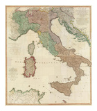 Composite: Italy, c.1800 Print by Louis Stanislas D&#39;arcy De La Rochette
