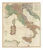 Composite: Italy, c.1800 Print by Louis Stanislas D'arcy De La Rochette