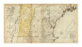 The Provinces of Massachusetts Bay and New Hampshire, Northern, c.1776 Prints by Thomas Jefferys