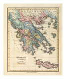 Graecia Antiqua, c.1823 Print by Fielding Lucas