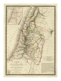 Palestine sous la Domination Romaine, c.1828 Poster by Adrien Hubert Brue