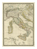 Italie Ancienne, c.1828 Prints by Adrien Hubert Brue