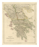 Greece, Ionian Islands, c.1832 Print by John Arrowsmith