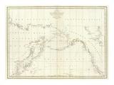 Cotes, l'Amerique, l'Asie, c.1797 Prints by Jean-francois De Galaup La Perouse