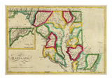 State of Maryland, c.1827 Prints by Robert Desilver