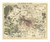Environs Paris, c.1883 Print