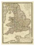 Angleterre, Galles, c.1827 Prints by Adrien Hubert Brue