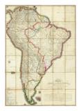 Mapa Geografico de America Meridional, c.1799 Print by Juan De La Cruz Cano Y Olmedilla