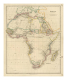 Africa, c.1834 Posters by John Arrowsmith