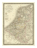 Pays-Bas, c.1821 Prints by Adrien Hubert Brue