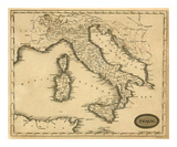 Italy, c.1812 Print by Aaron Arrowsmith