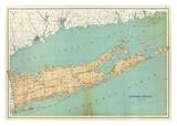 Suffolk County, New York, c.1895 Print by Joseph Rudolf Bien