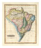 Brazil, c.1823 Posters by Fielding Lucas