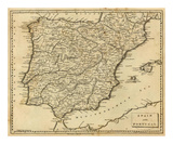 Spain, Portugal, c.1812 Posters by Aaron Arrowsmith