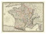 France a l'Epoque de 1789 Affischer av Adrien Hubert Brue