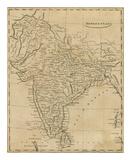 Hindoostan, c.1812 Print by Aaron Arrowsmith