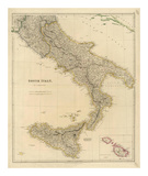Southern Italy, c.1832 Poster by John Arrowsmith