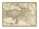 Asie-Mineure, Armenie, Syrie, Mesopotamie, Caucase, c.1822 Prints by Adrien Hubert Brue
