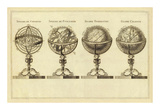 Spheres et Globes, c.1791 Prints by Jean Lattre