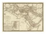 Geographie des Hebreux, c.1821 Prints by Adrien Hubert Brue