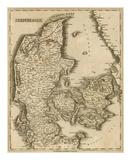 Denmark, c.1812 Posters by Aaron Arrowsmith