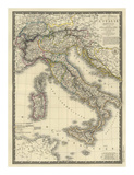 Italie Moderne, c.1828 Prints by Adrien Hubert Brue