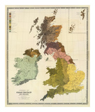 Ethnographic, Great Britain, Ireland, c.1856 Prints by Gustaf Kombst