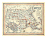 Massachusetts, Rhode Island, c.1846 Prints by Henry S. Tanner